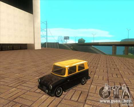VW Typ 147 - Fridolin para GTA San Andreas