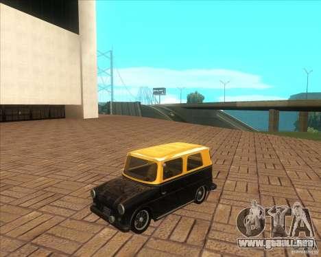 VW Typ 147 - Fridolin para GTA San Andreas