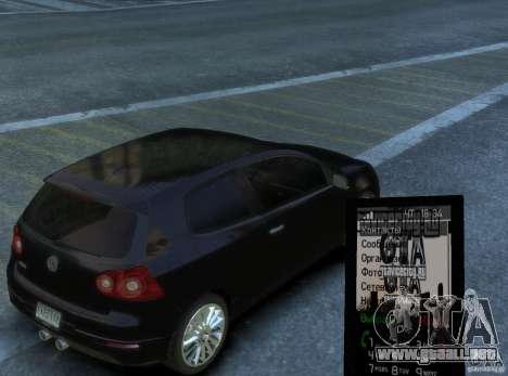 Tema GTAViceCity.RU para GTA 4 tercera pantalla