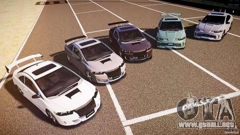 Honda Civic Si Tuning para GTA 4 vista superior