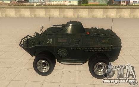 Vehículos blindados de la GTA 4 TBOGT Original c para GTA San Andreas left
