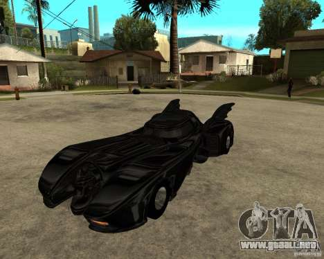 Batmobile para GTA San Andreas