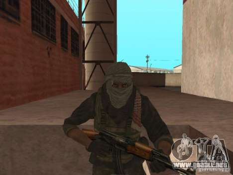 Dušman 2 de COD4MW para GTA San Andreas sexta pantalla