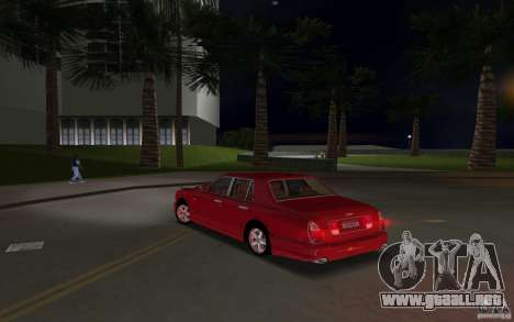 Bentley Arnage T 2005 para GTA Vice City vista interior