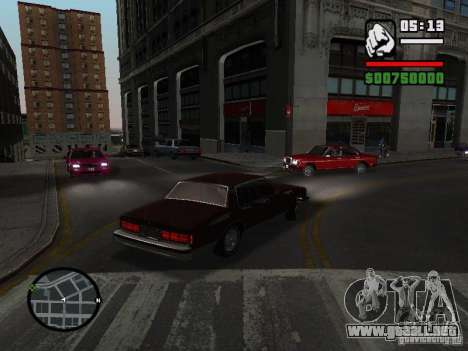 Chevrolet Caprice Classic 87 para GTA San Andreas left