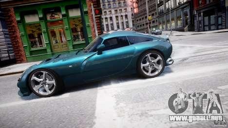 TVR Sagaris para GTA 4 left