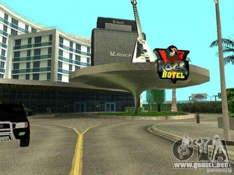 Nuevas texturas para V-Rock para GTA San Andreas tercera pantalla