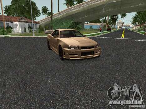 Nissan Skyline Z-Tune para GTA San Andreas left
