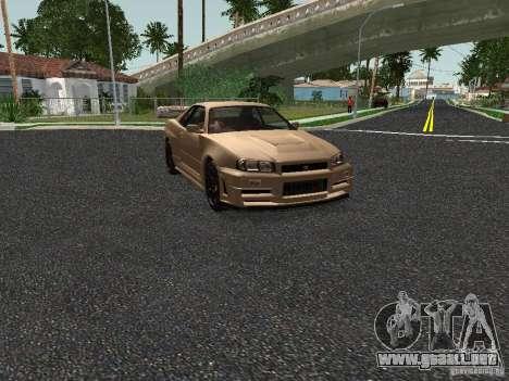 Nissan Skyline Z-Tune para GTA San Andreas left