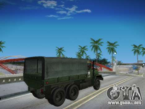 AM General M35A2 para visión interna GTA San Andreas