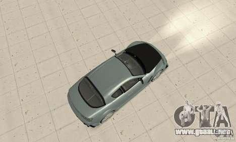 Mazda RX-8 Tuning para GTA San Andreas vista hacia atrás