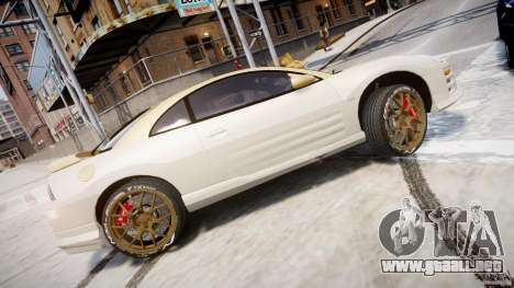 Mitsubishi Eclipse GTS Coupe para GTA 4 left