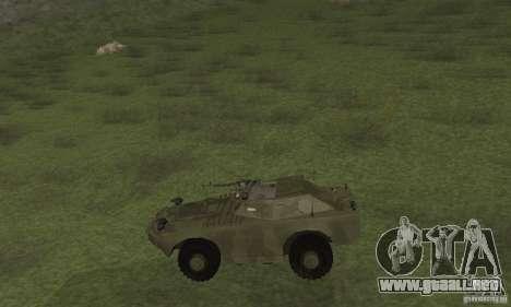 BRDM-1 piel 3 para GTA San Andreas vista posterior izquierda