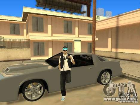 Skinpack Rifa Gang para GTA San Andreas sucesivamente de pantalla