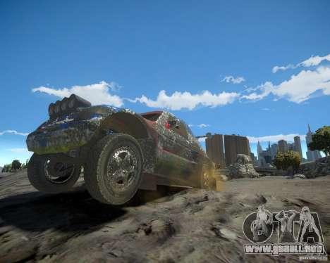 Mitsubishi Pajero Proto Dakar EK86 para GTA 4 ruedas