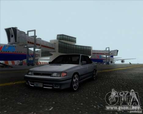 Subaru Legacy RS 1991 para GTA San Andreas vista posterior izquierda