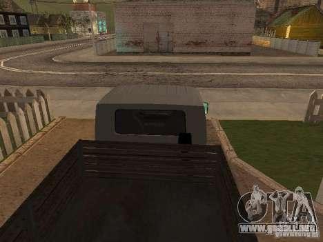 Tablero de Hyundai Porter para la visión correcta GTA San Andreas