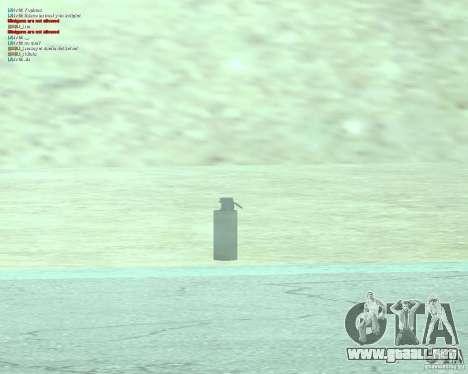 [Point Blank] WP Smoke para GTA San Andreas sucesivamente de pantalla