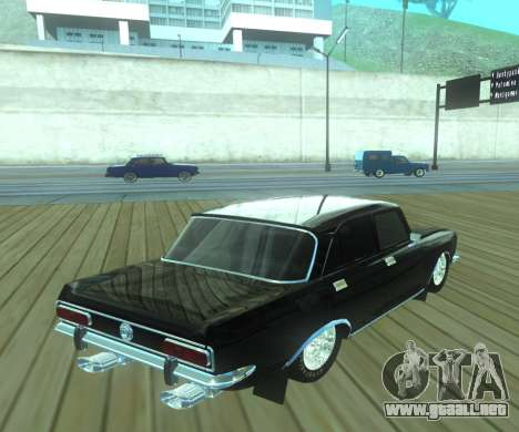 Moskvich 2140 Dragster para GTA San Andreas left