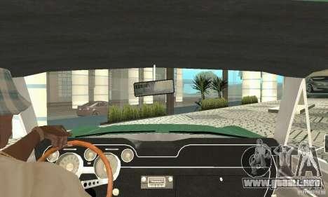 Ford Mustang Fastback 1967 para GTA San Andreas vista hacia atrás