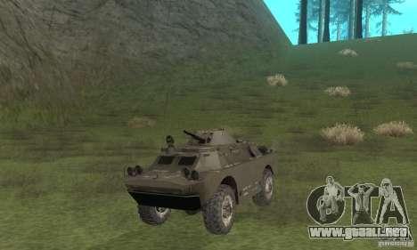 Versión de invierno BRDM-2 para GTA San Andreas left