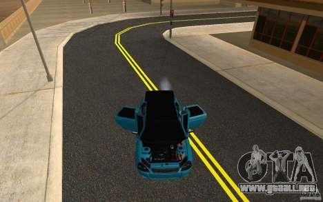 LADA 2170 Penza tuning para vista lateral GTA San Andreas