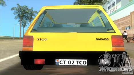 Daewoo Tico para GTA Vice City left