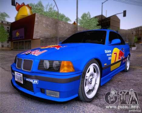 BMW M3 E36 1995 para la visión correcta GTA San Andreas