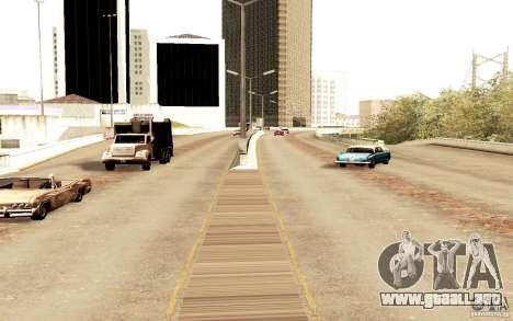 Un nuevo algoritmo para tráfico de vehículos para GTA San Andreas sucesivamente de pantalla