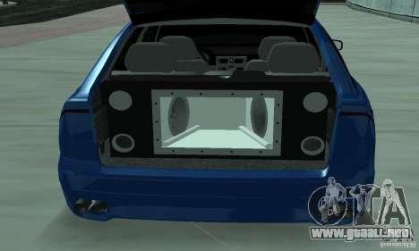 Lada Priora 2012 para vista lateral GTA San Andreas