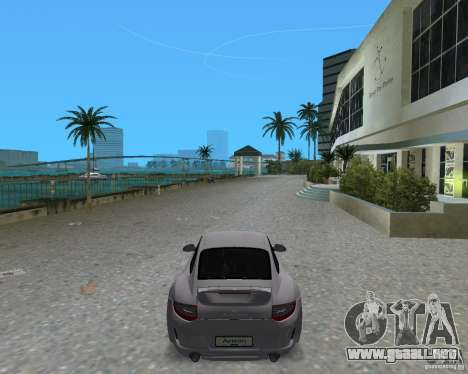Porsche 911 Sport para GTA Vice City vista lateral izquierdo