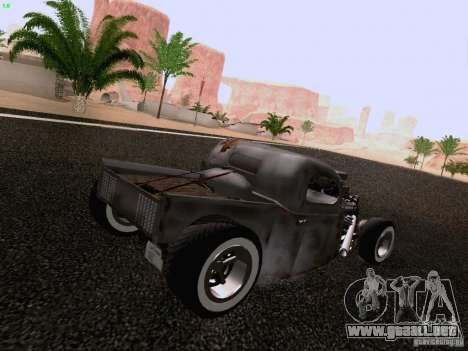 Ford Pickup Ratrod 1936 para GTA San Andreas left