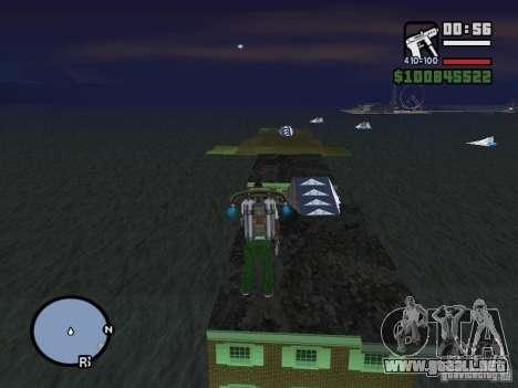 Night moto track V.2 para GTA San Andreas tercera pantalla