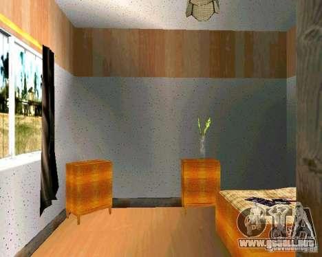 Nueva casa CJ v2.0 para GTA San Andreas sexta pantalla