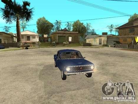 GAZ 24-10 para visión interna GTA San Andreas