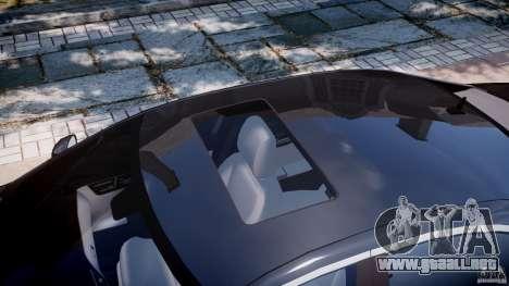 Mercedes-Benz S600 w221 para GTA 4 vista superior
