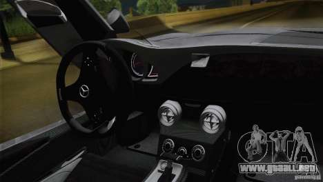 Mercedes-Benz SLR Stirling Moss 2005 para la vista superior GTA San Andreas