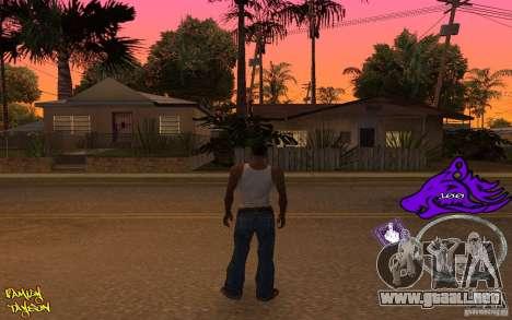 C-HUD by Roodney para GTA San Andreas segunda pantalla