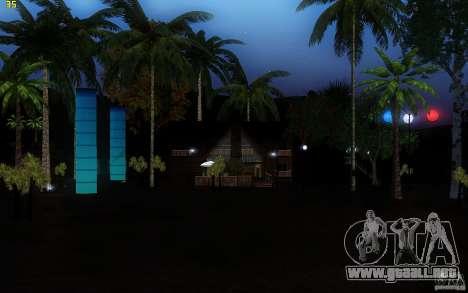 New Country Villa para GTA San Andreas segunda pantalla