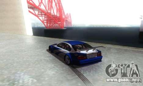 iPrend ENBSeries v1.1 BETA para GTA San Andreas sucesivamente de pantalla