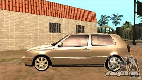 Volkswagen Golf MK3 VR6 para GTA San Andreas left