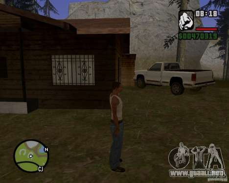Casa Hunter v 1.0 para GTA San Andreas segunda pantalla