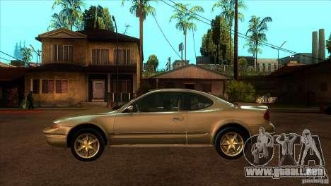 Oldsmobile Alero 2003 para GTA San Andreas left
