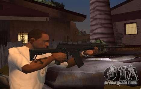 AK-12 para GTA San Andreas segunda pantalla