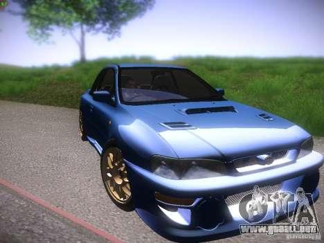 Subaru Impreza 22b Tunable para GTA San Andreas left
