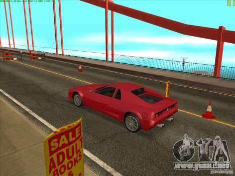 Takomskij Bridge (puente de Tacoma Narrows) para GTA San Andreas quinta pantalla