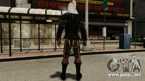 Geralt de Rivia v1 para GTA 4 tercera pantalla