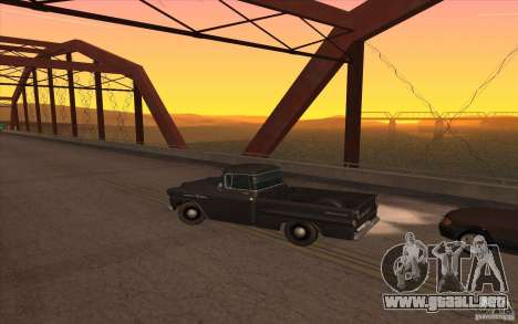 Chevrolet Apache Fleetside 1958 para GTA San Andreas left