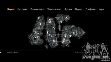 Ruta Trialovskaâ para GTA 4 adelante de pantalla