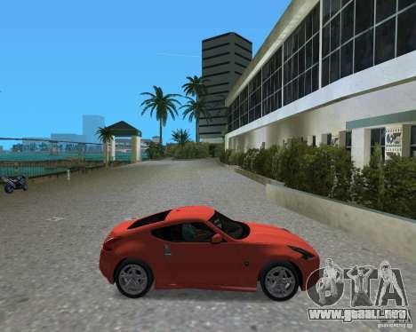 Nissan 370Z para GTA Vice City visión correcta